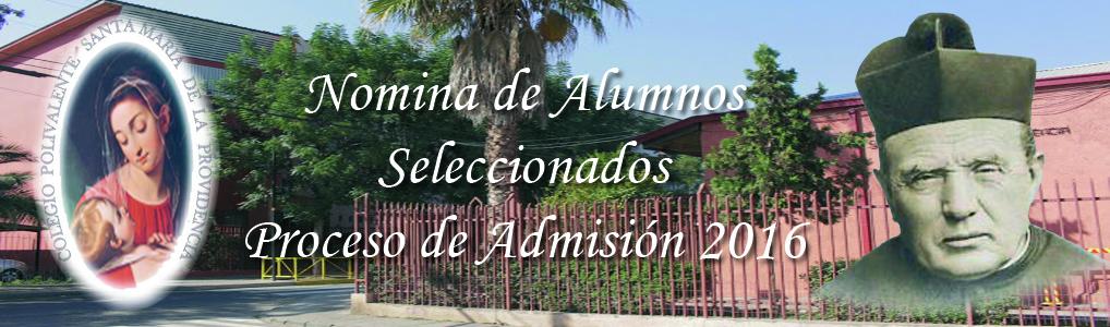 Nomina de Alumnos 1
